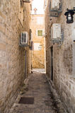 老黑山的建筑学:石头、岩石和石头 库存照片