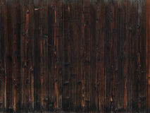 老黑暗的木纹理背景 库存照片