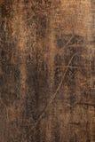 老黑暗的木纹理 库存照片