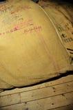 老黑森州的大袋 库存图片