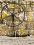 老水泵 免版税库存图片