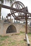老水泵Binyamina 免版税库存照片