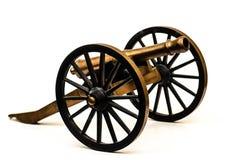 老黑火药温彻斯特大炮 库存照片