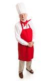 老练的厨师 免版税图库摄影