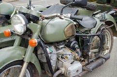 老(60第70辆)军用马达自行车 图库摄影