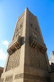 老建筑学在开罗,埃及 免版税库存图片