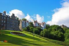老建筑学在爱丁堡,苏格兰 库存图片