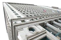 老建筑学在芝加哥市 免版税库存照片