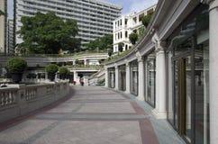 老建筑学庭院设计 免版税库存照片