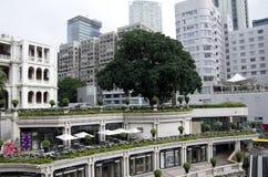 老建筑学庭院设计 免版税图库摄影