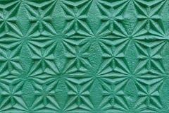 老绿色墙壁具体邮票 免版税库存照片
