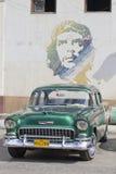 老水色经典汽车和che 库存照片