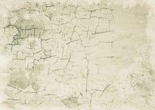 老破裂的墙壁背景纹理 库存照片