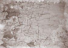 老破裂的墙壁 抽象设计 免版税库存照片