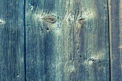 老破裂的木委员会 库存图片