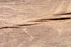 老破裂的木头 特写镜头照片 免版税库存照片