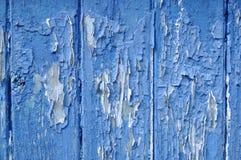 老破裂的油漆纹理特写镜头 图库摄影