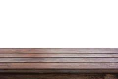 老黑褐色木台式 库存图片