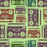 老-school录音机 免版税库存照片