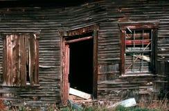 老1个房子 免版税库存图片