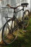 老1辆自行车 库存照片