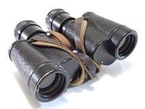 老2副双筒望远镜 免版税库存图片