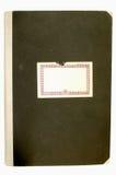 老2盖子笔记本 免版税库存图片