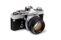 老2 35mm照相机 免版税库存照片