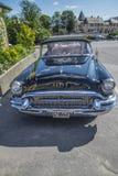 老amcar, 1955年Buick里维埃拉56r超级2个门敞篷车 库存照片