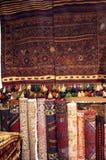 老anatolian地毯 免版税库存照片