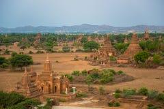 老Bagan古城塔  免版税图库摄影