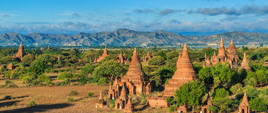 老Bagan在Bagan-Nyaung U,缅甸 库存照片
