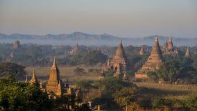 老BAGAN -缅甸 库存图片