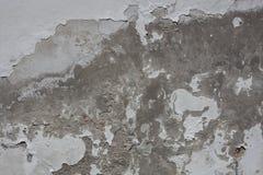 老blattered难看的东西墙壁 库存图片