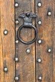 老doorknocker 免版税库存图片