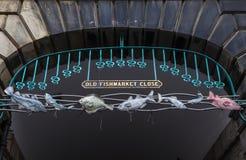 老Fishmarket关闭在爱丁堡 免版税库存图片