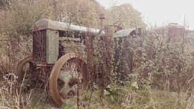 老Fordson拖拉机 免版税库存图片