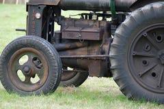 老Fordson拖拉机 库存图片