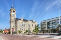 老Galt香港大会堂在剑桥,加拿大 库存照片