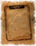 老grunge笔记本 免版税库存照片
