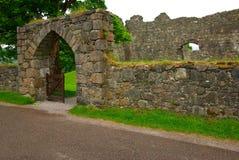老Inverlochy城堡,英国 库存图片