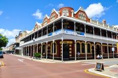 老P&O旅馆:Fremantle,西澳州 免版税库存图片