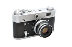 老photocamera 免版税库存图片