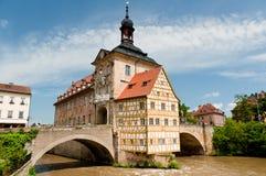 老Rathaus,琥珀 免版税图库摄影