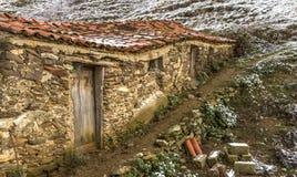 老sheepfold在多山希腊 免版税库存照片