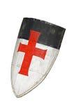 老templar或烈士盾 免版税库存图片