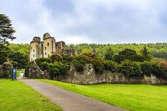 老Wardour城堡, Wardour,威尔特郡,英国 库存图片