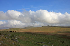 考克斯突岩, Dartmoor 库存图片