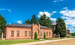 考古学博物馆在巴图林,乌克兰 免版税库存照片