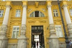 考古学博物馆在萨格勒布,克罗地亚 库存图片